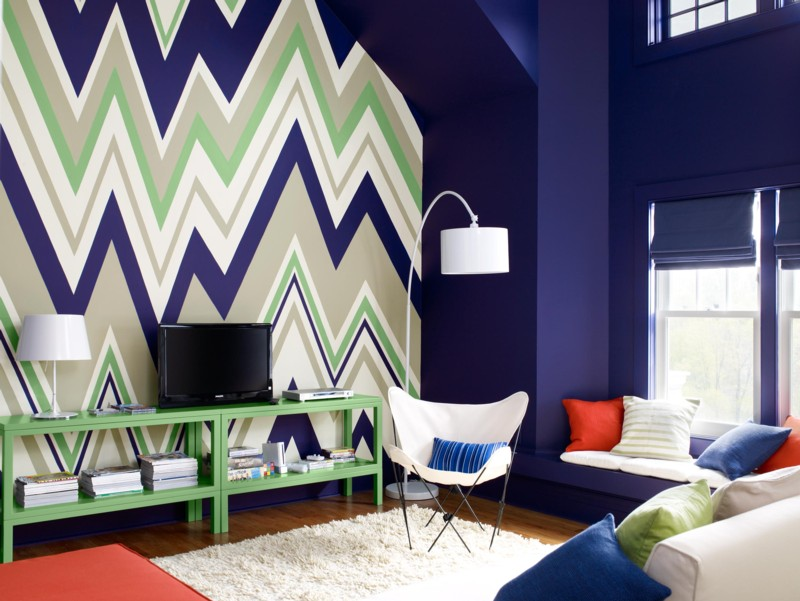 Color friday is a perfect shade of navy paint it what i for Moda pintura paredes 2016