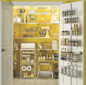 Walk in pantry storage ideas ehow co uk houses plans for Perfect kitchen organization