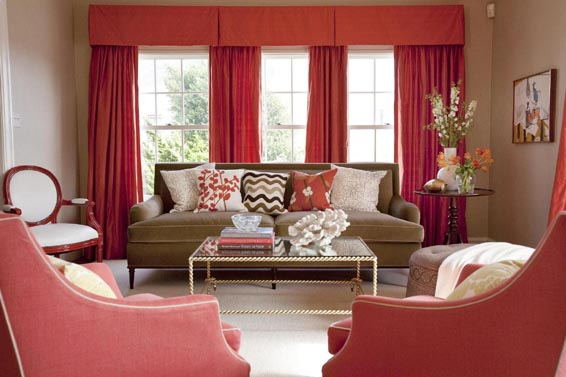 40 Best Red Curtains Images On Pinterest | Living Room Ideas, Modern Living  Rooms And Red Living Rooms Part 80