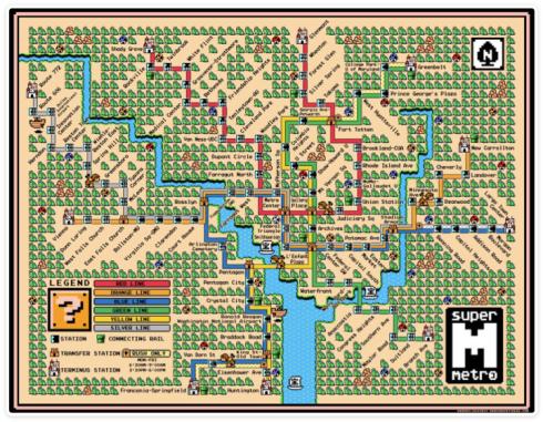 Super Mario Metro!