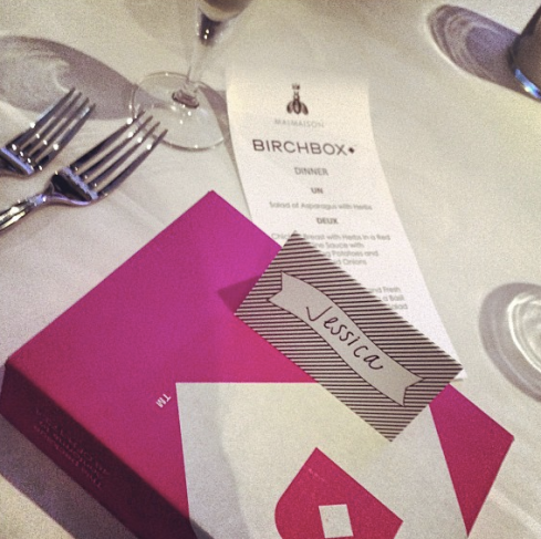 Dinner with Birchbox!