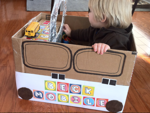 Cardboard Box Crafts