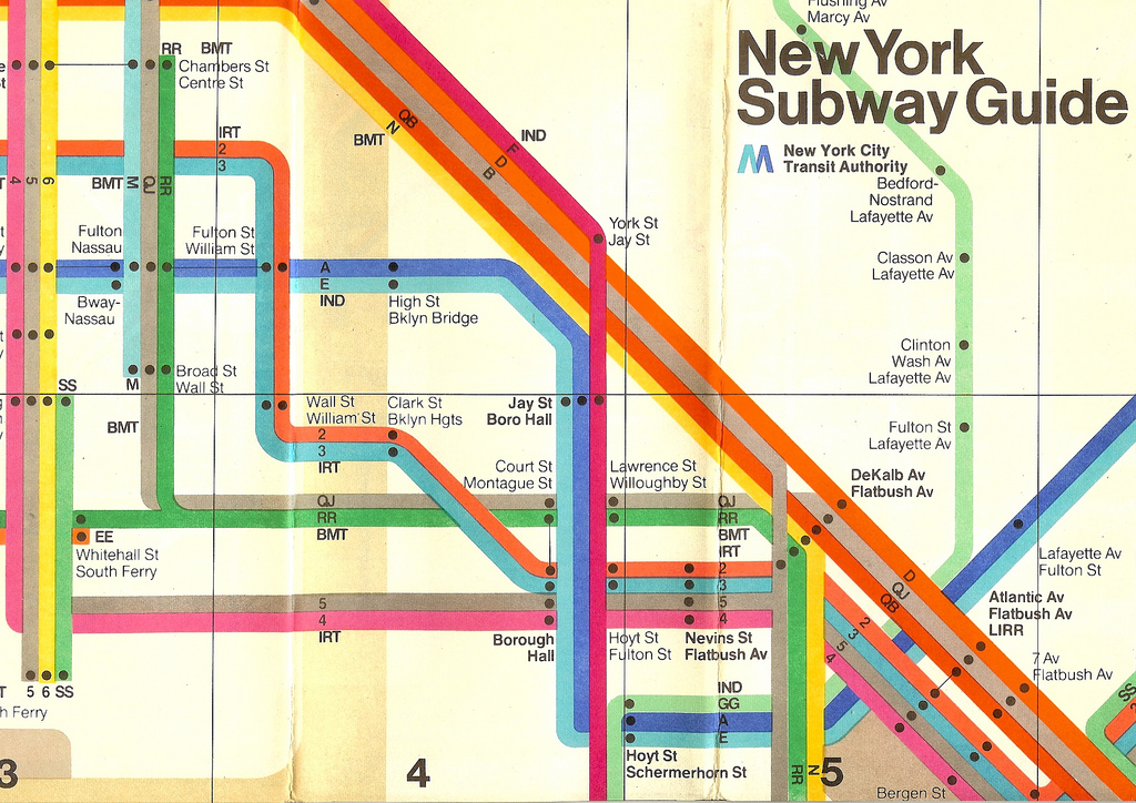 New York City Subway Map Design.Vignelli S Subway Map Paint It What I Tell You